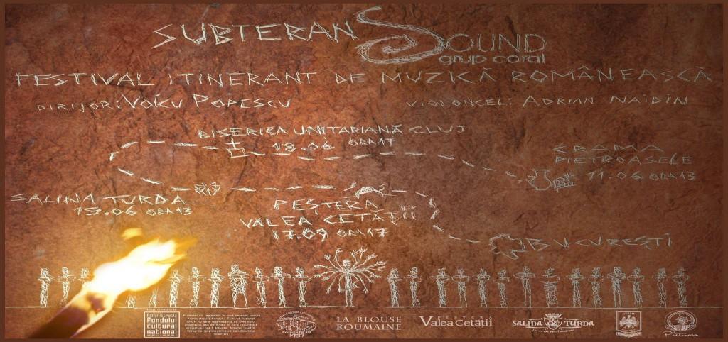 SOUND SUBTERAN – Festival itinerant, proiect cultural initiat si elaborat de Fundatia Culturala Sound si co-finantat de Administratia Fondului Cultural National